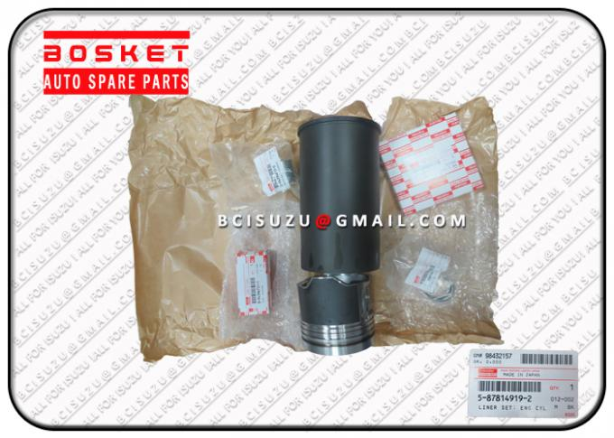 Diesel Engine Isuzu NPR Parts NPR70 4HE1 Liner Set Engine Cyliner 5878149190 5-87814919-0