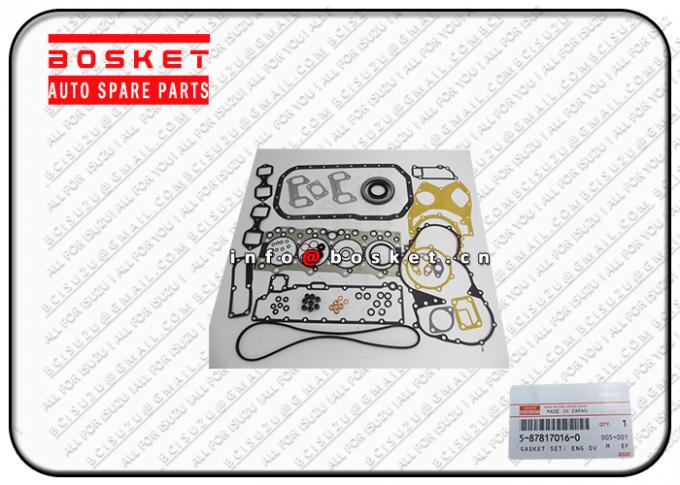 Orginal Japanese Truck Parts Engine Overhaul Gasket Set For ISUZU XD 5-87817016-0 5-87814002-5 5878170160 5878140025
