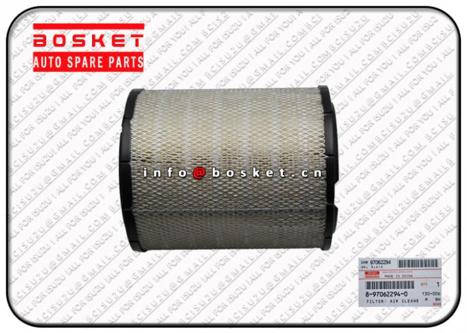 Air Cleaner Filter 8970622940 8-97062294-0 Isuzu Filters For 4JJ1 4HK1
