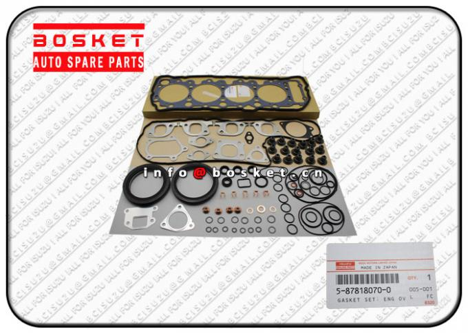 5-87818070-0 5878180700 Isuzu Cylinder Gasket Set Suitable for ISUZU NPR Parts