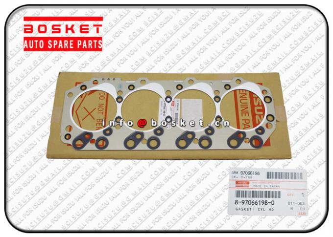 8-97066198-0 8970661980 Isuzu Cylinder Head Gasket Suitable for ISUZU NKR69 4JG2