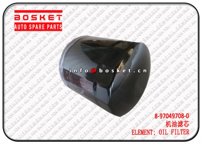 TFR54 4JA1 Isuzu D-MAX Parts Oil Filter Element 8-97049708-0 8970497080