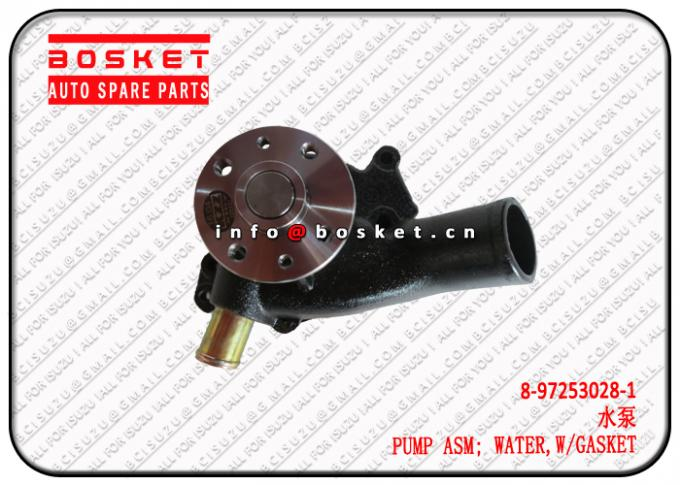 8-97253028-1 8972530281 With Gasket Water Pump Assembly Suitable For ISUZU XD 4BG1 6BG1