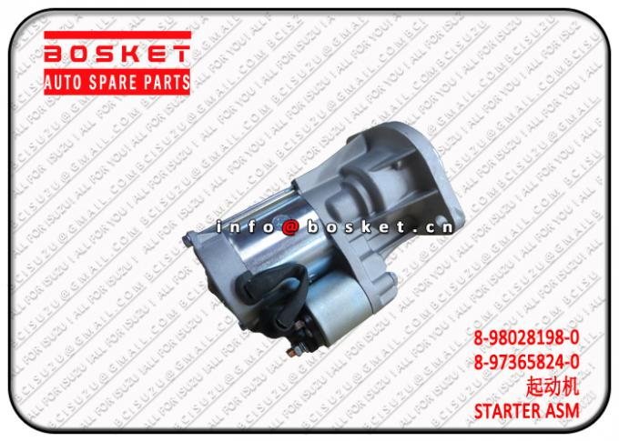 8-98028198-0 8-97365824-0 8980281980 8973658240 Starter Assembly Suitable For ISUZU TFR 4JJ1 4JH1