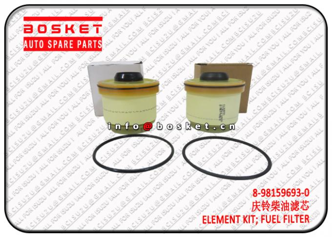 ISUZU NKR77 4KH1 Fuel Filter Element Kit Isuzu NPR Parts 8-98159693-0 8981596930