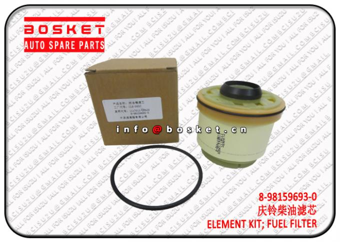 8-98159693-0 8981596930 Fuel Filter Element Kit Suitable For ISUZU NKR77 4KH1