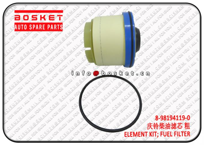 8-98194119-0 8981941190 Isuzu NPR Parts Fuel Filter Element Suitable For ISUZU NKR77 4KH1