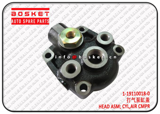 1-19110018-0 1191100180 Air Compressor Cylinder Head Assembly Suitable For ISUZU 10PE1