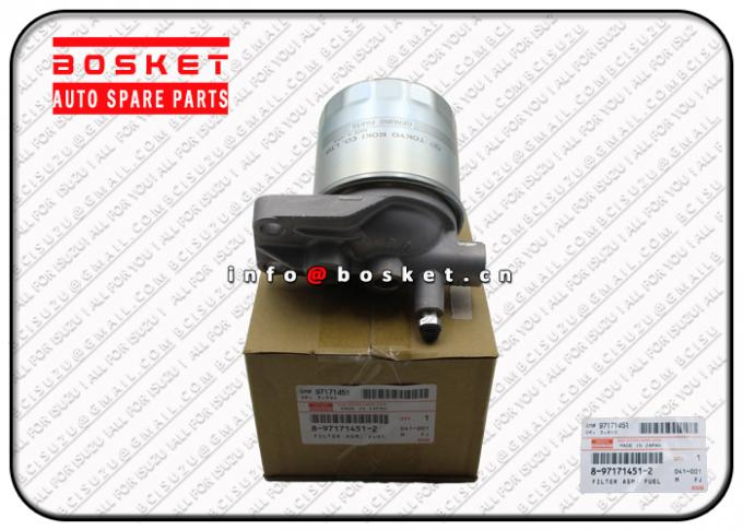 8971714510 8-97171451-0 Isuzu Filters / Fuel Filter Assembly For NHR NKR