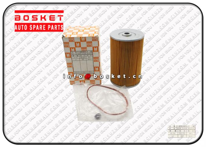1878103142 1-87810314-2 Isuzu Filters / Oil Filter Element For CVR14 6QA1