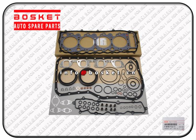 High Performance Isuzu Cylinder Gasket Set 5878171223 5-87817122-3 Engine Overhaul Kit