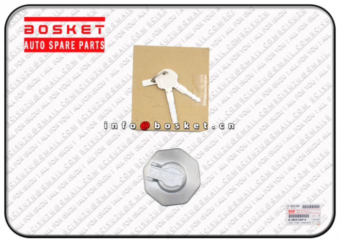 Key Fuel Cap For ISUZU NPR75 4HK1 8982013690 8981460100 8-98201369-0 8-98146010-0