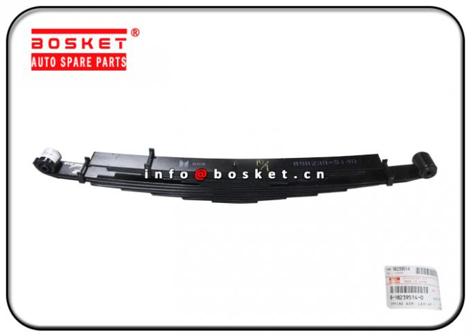 Isuzu 4HK1 NQR75 Truck Chassis Parts 8-98239514-0 8-98079902-0 8982395140 8980799020 Rear Leaf Spring Assembly