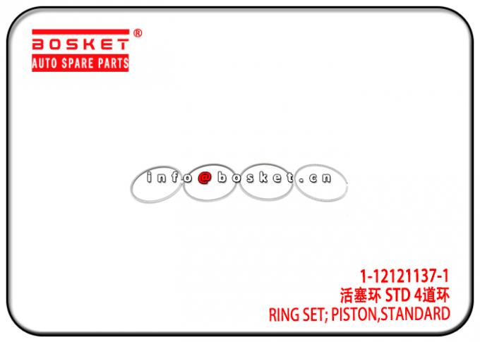 1-12121137-1 1121211371 Standard Piston Ring Set Suitable for ISUZU 6SD1T CXZ CYZ