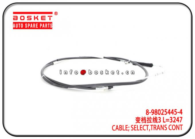 ISUZU NPR 700P MYY5T 8-98025445-4 44S4 8-98025445-4 Transmission Control Select Cable