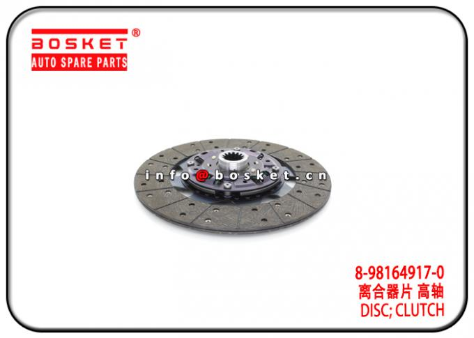 700P Isuzu NPR Parts Clutch Disc 8-98164917-0 5-87610092-BVP 8981649170 587610092BVP