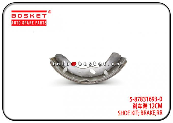 Mexico Market 4HK1-T NPR ELF500 Rear Brake Shoe Kit 5-87831693-0 5878316930