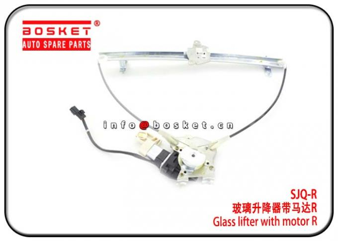 Durable Isuzu Truck Parts 6HH1 6HE1 SJQ-R SJQ R Glass Lifter With Motor R