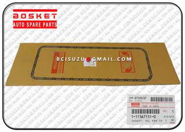 China 1113671311 1-11367131-1 Isuzu D-MAX Parts Cylinder Block To Oil Pan Gasket For Isuzu XE 6HK1 Engine factory