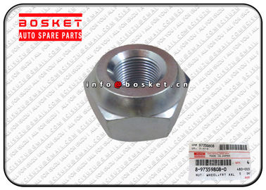 Isuzu Npr Truck Parts Front Axle Wheel Nut For ISUZU NPR NKR 4HE1TC 8-97359808-0 8-94427549-1