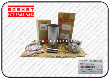 China ISUZU NKR77 4JH1T Engine Cylinder Liner Set 5-87814090-3 5878140903 Oem Isuzu Parts factory