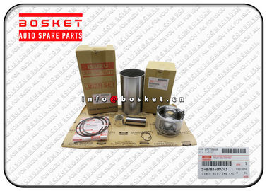 China 5-87814092-3 5878140923 Engine Cylinder Liner Set Suitable for ISUZU NKR77 4JH1T factory