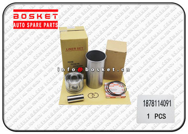 China Isuzu Engine Cylinder Isuzu Liner Set Suitable for ISUZU 6BG1T 1-87811409-1 1878114091 factory