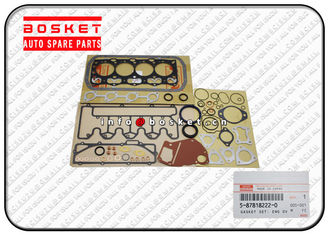 Engine Overhaul Gasket Set , Isuzu Cylinder Gasket Set 5-87818222-0 5878182220
