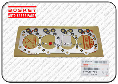 China 8-97066198-0 8970661980 Isuzu Cylinder Head Gasket Suitable for ISUZU NKR69 4JG2 factory