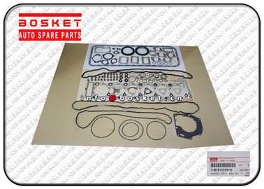 1878155990 1878129821 Isuzu Cylinder Gasket Set , ISUZU 6HK1 Engine Overhaul Gasket Set