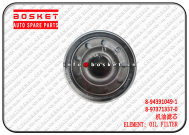 China 8-94391049-1 8-97371337-0 8943910491 8973713370 Oil Filter Element For ISUZU FVR34 6HK1 supplier