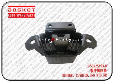 China Isuzu FVR FTR truck spare parts 1-53225193-0 1532251930 Rear Engine Mounting Cushion Rubber supplier