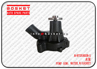 China 8-97253028-1 8972530281 With Gasket Water Pump Assembly Suitable For ISUZU XD 4BG1 6BG1 supplier