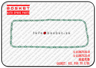 China 1-11367131-0 1-11367121-0 1113671310 1113671210 Oil Pan To Cylinder Block Gasket Suitable For ISUZU XE 6HK1 supplier