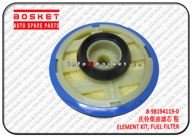 China 8-98194119-0 8981941190 Fuel Filter Element Kit Suitable For ISUZU NKR77 4KH1 supplier