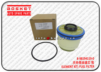 China 8-98194119-0 8981941190 Isuzu NPR Parts Fuel Filter Element Suitable For ISUZU NKR77 4KH1 supplier