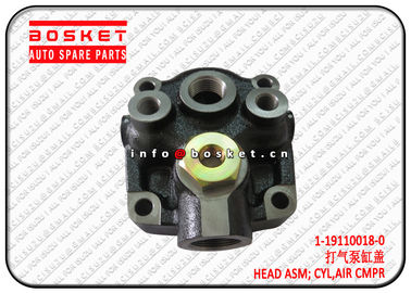 China 1-19110018-0 1191100180 Air Compressor Cylinder Head Assembly Suitable For ISUZU 10PE1 supplier