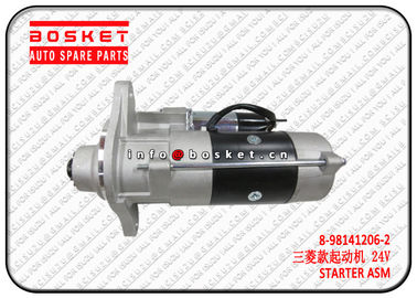China ISUZU FCR FRR 6HK1 8-98141206-2 8981412062 	Isuzu FVR Parts Starter Assembly supplier