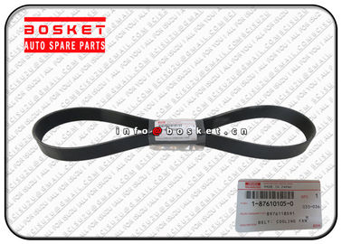 China Vehicle Cooling Fan Belt For ISUZU FRR FSR 1-87610105-0 8-97611859-1 1876101050 8976118591 supplier