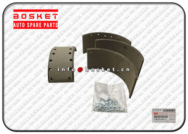 China 5878316922 5-87831692-2 Isuzu Brake Parts Rear Brake Lining Kit For NQR75 4HK1 factory