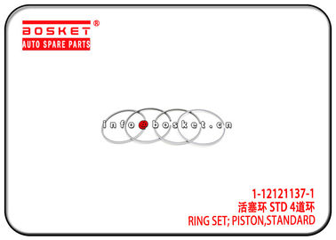 China 1-12121137-1 1121211371 Standard Piston Ring Set Suitable for ISUZU 6SD1T CXZ CYZ supplier