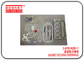 5-87814281-1 5878142811 Isuzu Cylinder Gasket Set For 4BG1 4BE1 XD