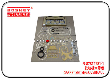 China 5-87814281-1 5878142811 Isuzu Cylinder Gasket Set For 4BG1 4BE1 XD factory