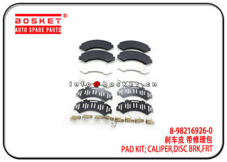 China ISUZU NPR 8-98216926-0 8-97168634-0 8982169260 8971686340 Front Disc Brake Caliper Pad Kit factory