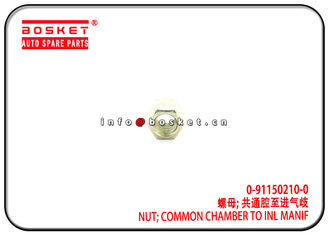 China 0-91150210-0 0911502100 Common Chamber To Inlet Manif Nut Suitable for ISUZU 4JB1 NKR55 factory