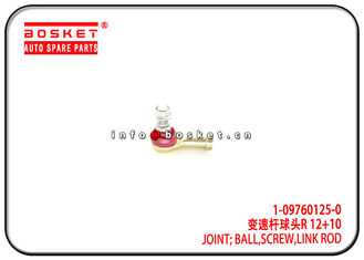 China 1-09760125-0 1097601250 Isuzu CXZ Parts Link ROd Screw Ball Joint For 10PE1 CXZ81 supplier