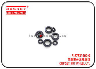 China 5-87831602-0 5-87830538-0 5878316020 5878305380 Front Wheel Cylinder Cup Set Suitable for ISUZU 4JB1 NKR55 factory