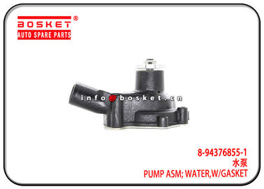 China 8-94376855-1 J211-0080S 8943768551 J2110080S With Gasket Water Pump Assembly Suitable for ISUZU 4BG1 NPR60 factory