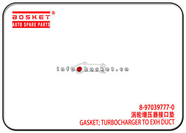 China 8-97039777-0 8970397770 Turbocharger To Exhaust Duct Gasket Suitable for ISUZU 4HK1 4HG1 NPR factory