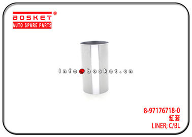 China 8-97176718-0 8971767180 Cylinder Block Liner Suitable for ISUZU 4BE1 NPR58 factory